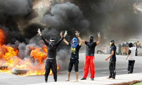 Bahrain grand prix protests