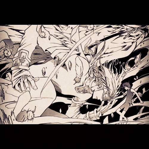"""#07Ghost #art is #awesome #manga"