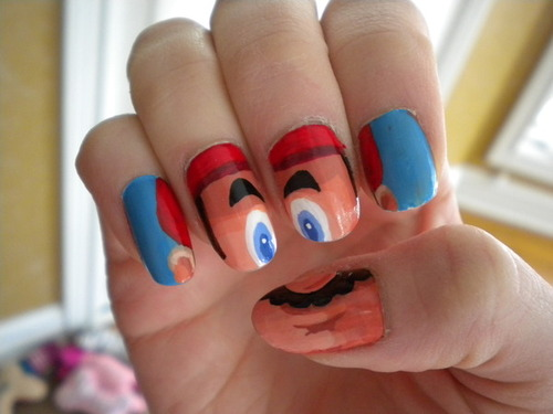 Ongles Super Mario