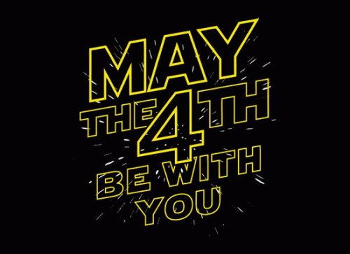 may the 4th - SW day