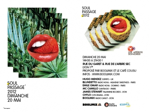 Soul Passage 2012, curated by Boolimix during Nuits sonores