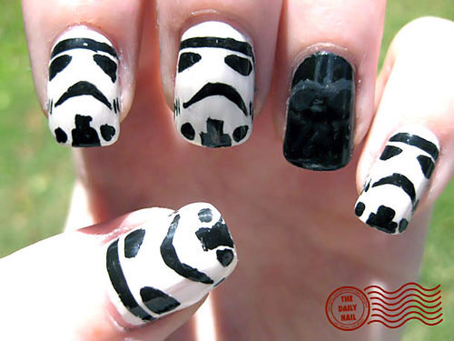 Ongles Star Wars