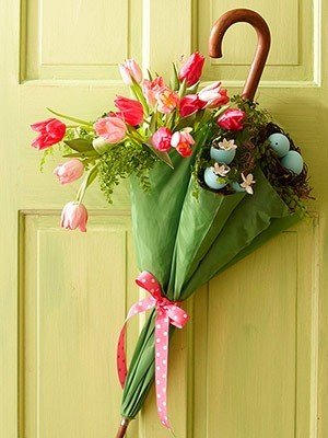 adorable spring door decorations