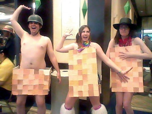 Cosplay sims à poil