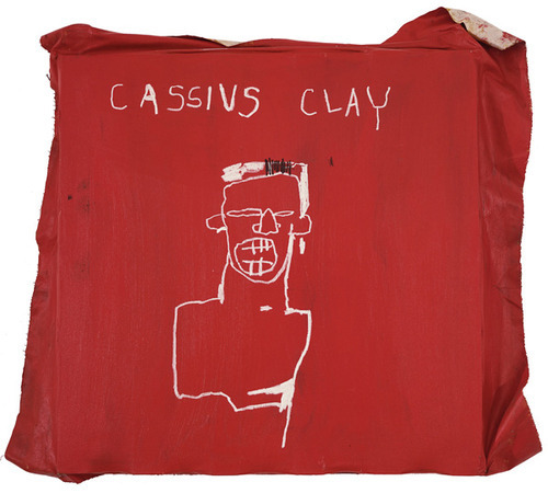 Cassius Clay by Basquiat #art #peinture