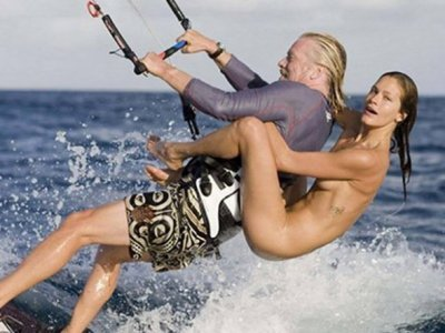 Richard Branson Has Invited A Canadian Politician To Go Naked Kitesurfing With Him