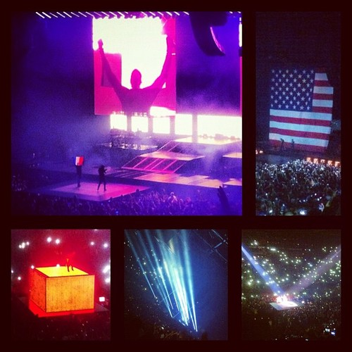Watch The Throne - Bercy 01-06-12 - Kanye West and Jay-Z  #wtt