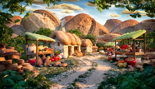 Delicious #Food #Landscapes by Carl Warner
