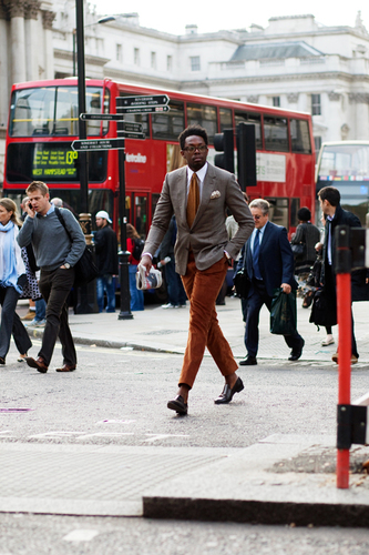 On the Street....Crosswalk, London