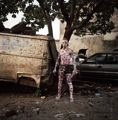 #Portraits of Congolese Wrestlers | By Colin Delfosse