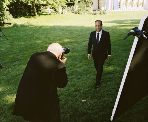 Les coulisses du portrait officiel de François Hollande - LeMonde.fr