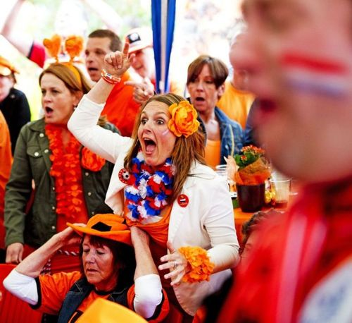 Les filles #supportrices pendant l'euro 2012 : #pays-bas