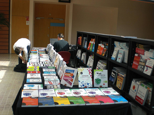 stand des editions eyrolles - Web Event 4 Lyon