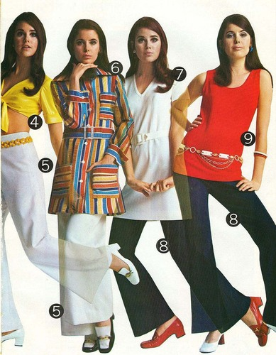 Chick Slacks of 70s Style