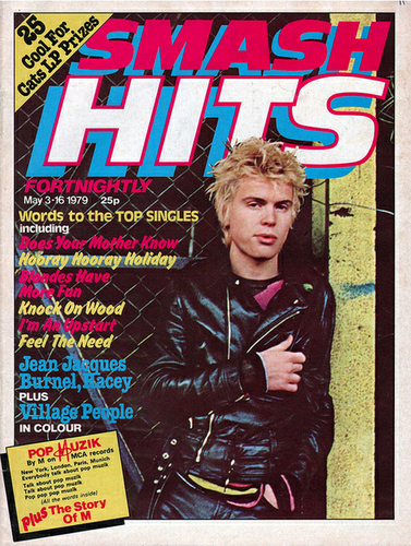 Vintage Covers Of Smash Hits Magazine