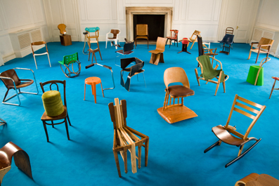 Gamper Martino » A 100 Chairs in 100 Days