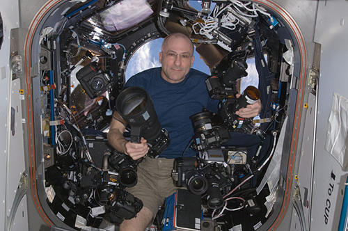 Don Pettit's Huge Camera Collection | OnOrbit