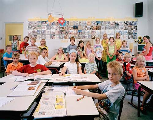 Real #class #portraits from a teachers point of view by Julian Germain