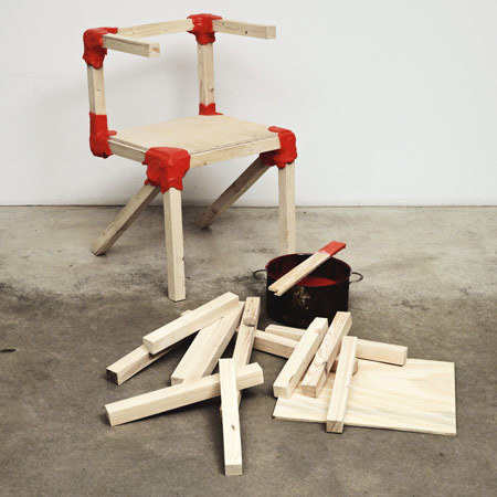 The Workshop Chair by Jerszy Seymour #art #sculpture