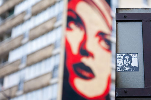 shepard fairey a paris