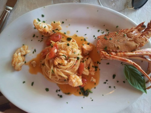 #top5food, Linguine aux langoustes