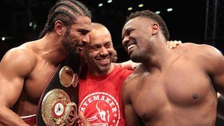 David Haye / Dereck Chisora - Good Sportsmanship
