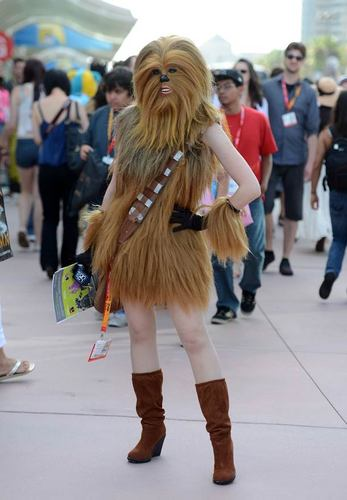 Lady Chewbacca.