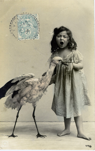 French Postcard, Early 1900s