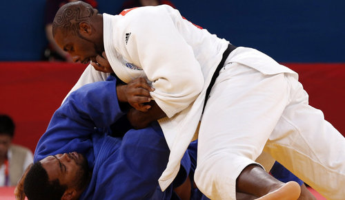 Immobilisation - Le triomphe de Teddy Riner en images - ParisMatch.com