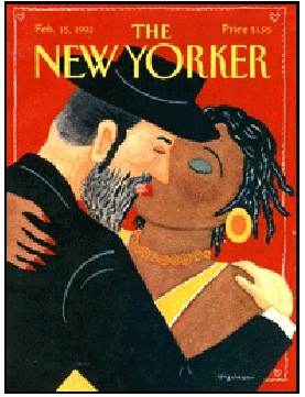 The New yorker, cover, Black-Jew Love