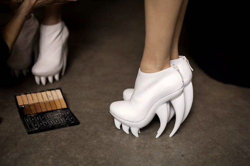 iris van herpen xunited nude #shoes