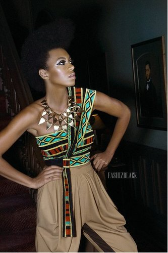 Solange Knowles For FashizBlack #boubous