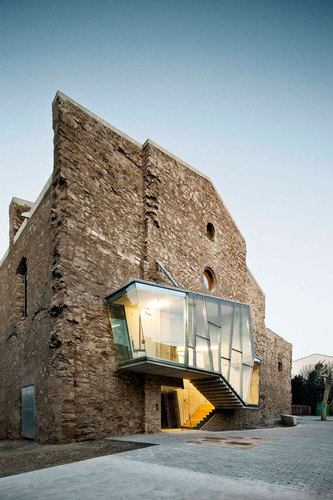 #architecture : The Saint Francis Convent Church by David Closes in Santpedor, Spain