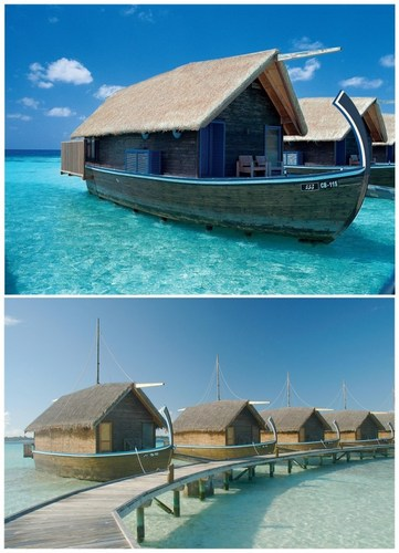 Boat Hotel, Cocoa Island In Maldives Islands