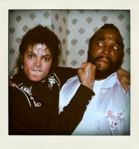 Michael and Mister T