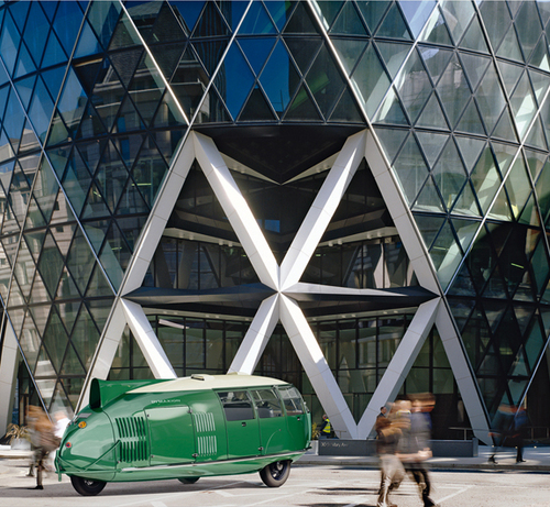 #design #architecture Dymaxion Car