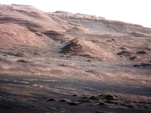 NASA - Layers at the Base of Mount Sharp