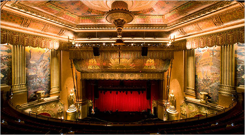 Beacon Theater Is Restored to the Glamour of Its Vaudeville Days - NYTimes.com
