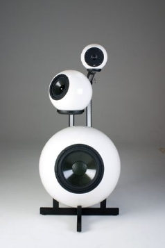 Eyes ball speaker