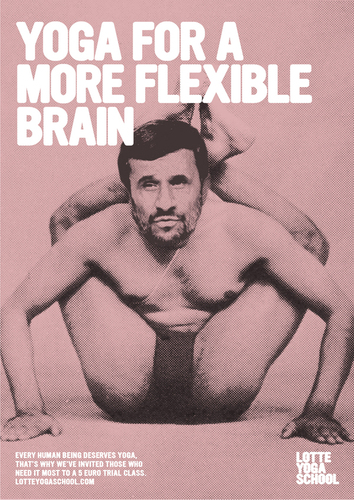 poster : yoga for More flexible brain