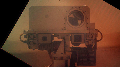 You're So Vain: Curiosity Rover Takes A Picture Of Itself