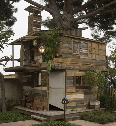 Tree-house in Hyeres (France)