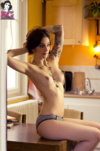 French suicide girl #tattoo