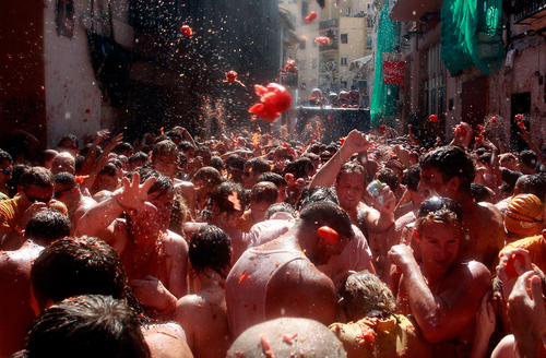 La Tomatina 2012 - The Big Picture - Boston.com