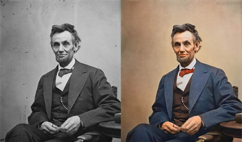 15 Famous Photos in History Colorized