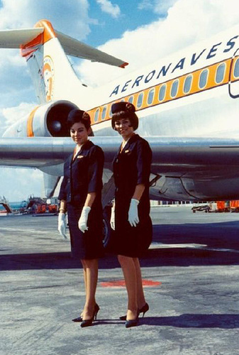The Glamour of Flight - Sexy Flight Attendants