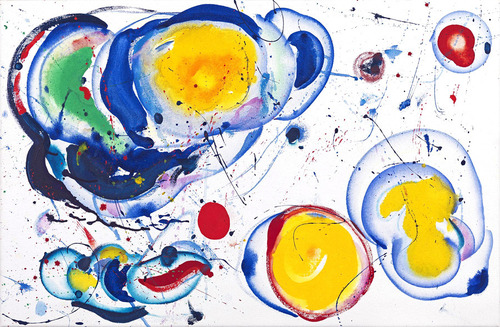 #peinture Colors bubbles