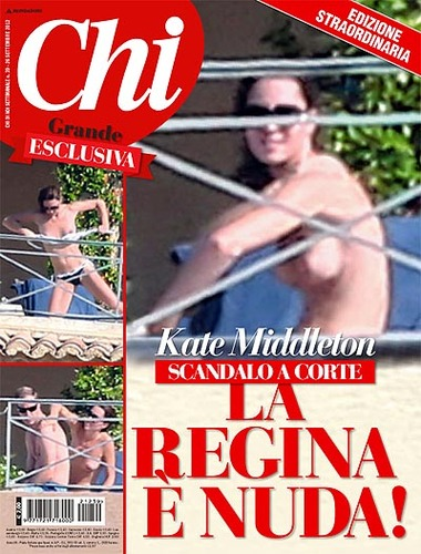 Chi / Italy / Magazines / Kate Middleton Topless.