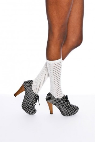 Patterned Platform Boot - Shoes - Women