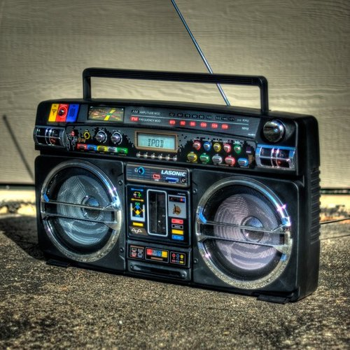 Retro Blaster iPod Boombox by Lasonic